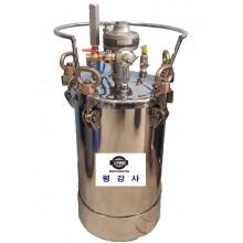 스텐레스압송탱크 SUS304 자동모터교반기 압송탱크 20 L, 30L,40L,60L,80L,100L주문제작