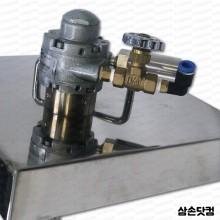 페인트교반기 덮개형 1AM 가스트 페인트통 덮개형 에어모터교반기