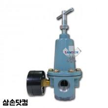 하스코 에어레귤레이터+게이지 공압식 도장기 451 45:1 631 63:1 펌프 에어조절기 에어조절밸브