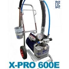 철재 철구조물 플랜트 오일스테인 수성페인트 우레탄  컨테이너사비칠 방수 견출시공장비 X-PRO600E