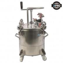 스테인레스 압송탱크 20L 수동 SUS304 스텐 압송탱크 도료압송 액체이송 이형제 압송용기